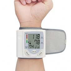 Vangold Wrist Blood Pressure Monitor with Portable Case Bp Monitor for Health Care 2 Years Warranty (Battery Operated, CK-101S)