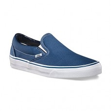 Vans Men's VANS CLASSIC SLIP ON SKATE SHOES 11.5 (NAVY)