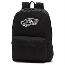 VANS Realm Backpack Plain Black School Bag Vans Backpack V00NZ0BLK