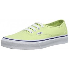 Vans Unisex Authentic Slim Skate Shoe-Shadow Lime/True White-5