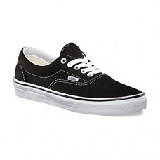 Vans VEWZNVY Unisex Era Canvas Skate Shoes,Black,9.5 B(M) US Women / 8 D(M) US Men