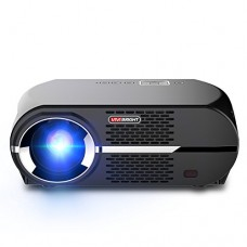 VIVIBRIGHT GP100 Video Projector,LCD 1080P Full-HD Level Image Quality,3500 Lumens LED Luminous Efficiency, WXGA Resolution, In Your Living Room Be...