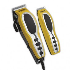 Wahl Groom Pro Total Body Grooming Kit, High-Carbon Steel Blades, Yellow & Black, 79520-3101P