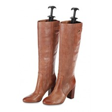 Whitmor Boot Shapers - Spring Loaded Adjustable - Men's and Women's Boots (Set of 2)