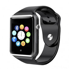 Bluetooth Smart Watch A1 - WJPILIS Touch Screen Smart Wrist Watch Smartwatch Phone with SIM Card Slot Camera Pedometer Sport Tracker for IOS iPhone...
