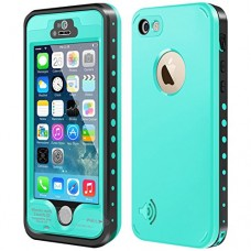 iPhone 5S / SE Waterproof Case, Waterproof Dust Proof Snow Proof Shock Proof Case with Touched Transparent Screen Protector, Heavy Duty Protective ...