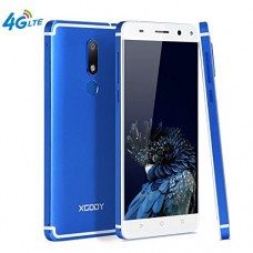 Xgody D22 4G FDD-LTE Unlocked Cell Phones Android 7.0 16GB ROM 2GB RAM 5.5 Inch Dual SIM Dual Cameral 13 MP&5 MP HD Screen with Fingerprint Scanner...