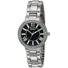 XOXO Women's Quartz Metal and Alloy Watch, Color:Silver-Toned (Model: XO5885)
