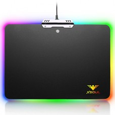 RGB Gaming Mouse Pad Waterproof LED Lighting Gaming Mouse Mat for Pro Gamer XSOUL KINGDOM XP6