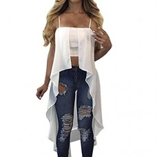Yellow Women's Fashion Off Shoulder Tops Short Sleeve Blouse Casual T-Shirt (S, White)