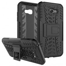 Galaxy A7 2017 Case,Yiakeng Shockproof Impact Protection Tough Rugged Dual Layer Protective Armor Case Cover with Kickstand for Samsung Galaxy A7 (...