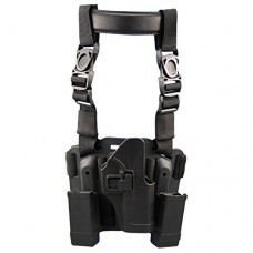 Yongcun Tactical Leg Holster Gun Thigh Holster Quick Tactical Holster General Tactical General Purpose Tactical Rig Fits For Glock17 22 31 Type