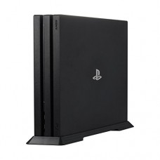 Younik PS4 Pro Vertical Stand for Playstation 4 Pro with Built-in Cooling Vents and Non-slip Feet