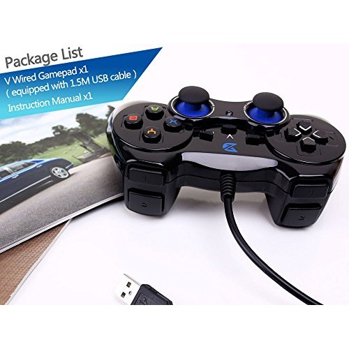 ZD-V+ USB Wired Gaming Controller Gamepad For PC(Windows XP