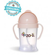 ZoLi BOT Straw Sippy Cup - 6 oz (Blush)